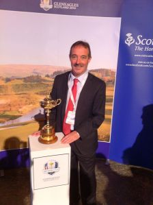 Ryder Cup and Professor Jarvie